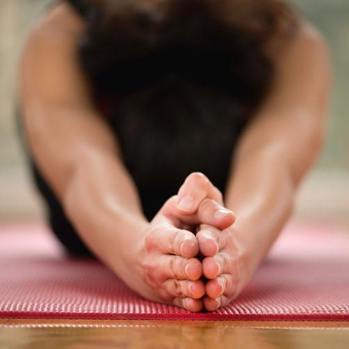 warm yoga les