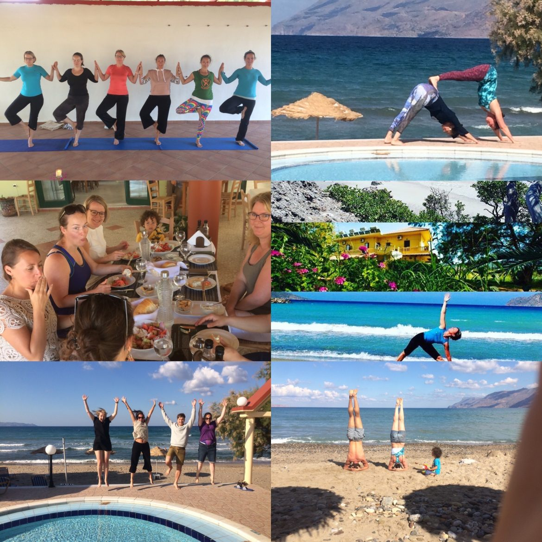 Yoga vakantie Kreta, Griekenland 5 - 12 Okt 2018 - Kompassie Yoga