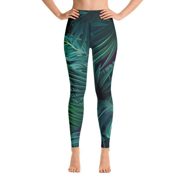 Relax_yoga_legging_into_the_forest